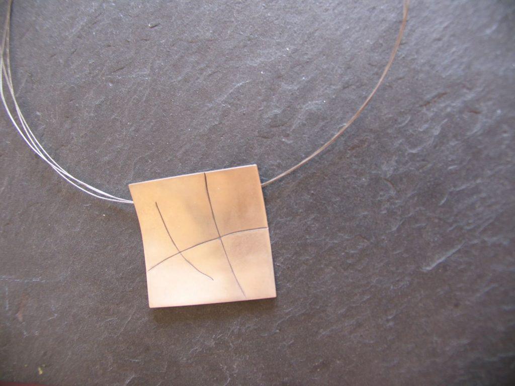 joia d'autor | penjoll de plata | conjunt ASSUMPTA
