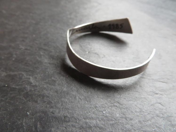 joia d'autor | esclava de plata | disseny personalitzat | model GINA
