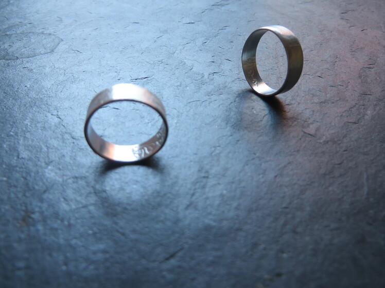 joia d'autor | anell de plata | disseny personalitzat | model JAUME I MAR