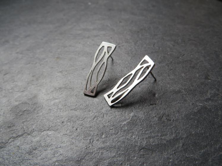 joia d'autor | arracades de plata | conjunt LAIA