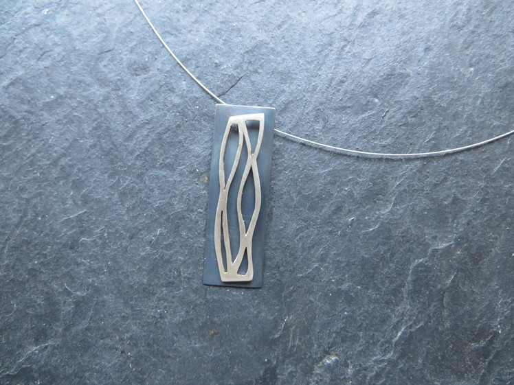joia d'autor | penjoll de plata | conjunt LAIA