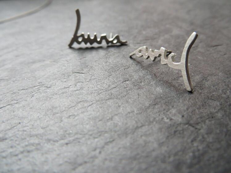 joia d'autor | arracades de plata | disseny personalitzat | model NEREA