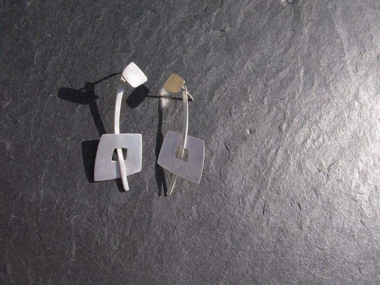 joia d'autor | arracades de plata | conjunt MARIONA
