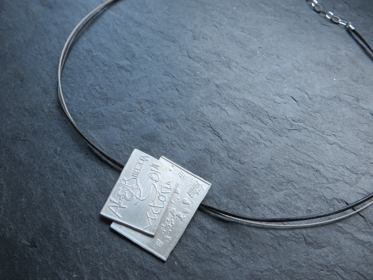 joia d'autor | penjoll de plata | disseny personalitzat | model NÉTS