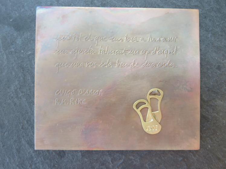 joia d'autor | penjoll d'or | disseny personalitzat | joia exclusiva PEP