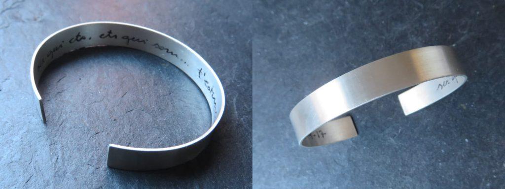 joia d'autor | esclava de plata | disseny personalitzat | model PEPETA