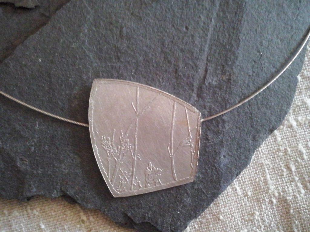 joia d'autor | penjoll de plata | conjunt PLANTES AROMÀTIQUES