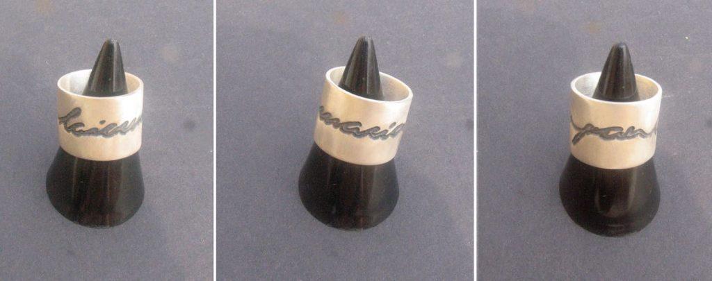 joia d'autor | anell de plata | disseny personalitzat | model SUSSI