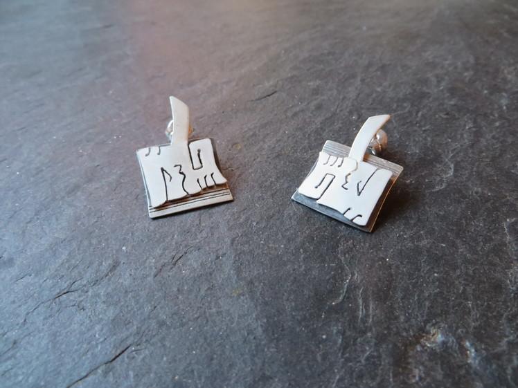 joia d'autor | arracades de plata | conjunt TESA