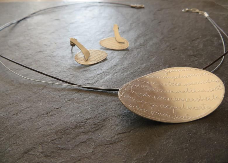 joia d'autor | arracades i penjoll de plata | disseny personalitzat | model XARLOT