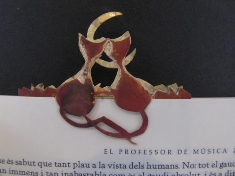 joia d'autor | punt de llibre de disseny | model GATS