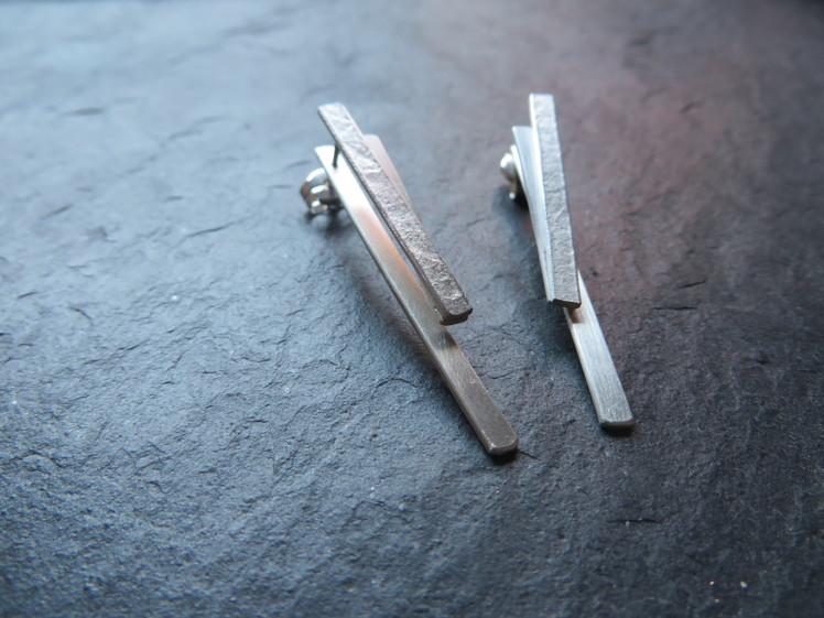joia d'autor | arracades de plata | texturades | conjunt ÀVIA PAQUI
