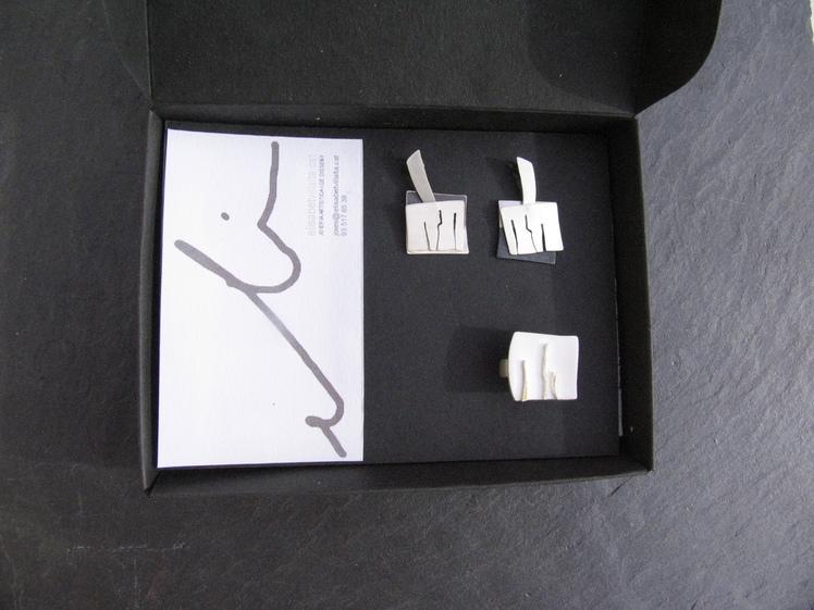 joia d'autor   disseny personalitzat  conjunt CHARI