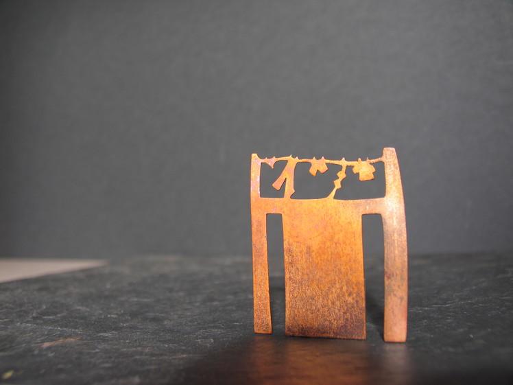 joia d'autor | punt de llibre de disseny | model ROBA ESTESA